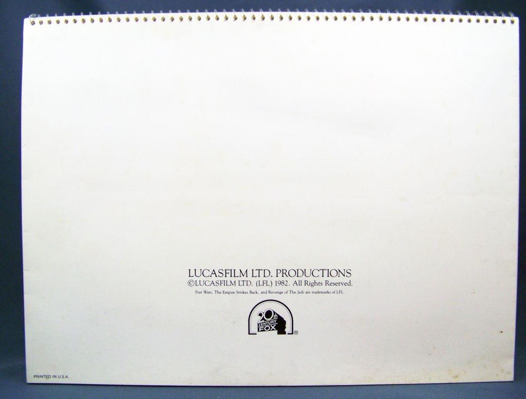 Revenge of the Jedi (1982) - Lucasfilm & 20th Century Fox - Merchandising Press Kit (Dossier Promotionnel) 10