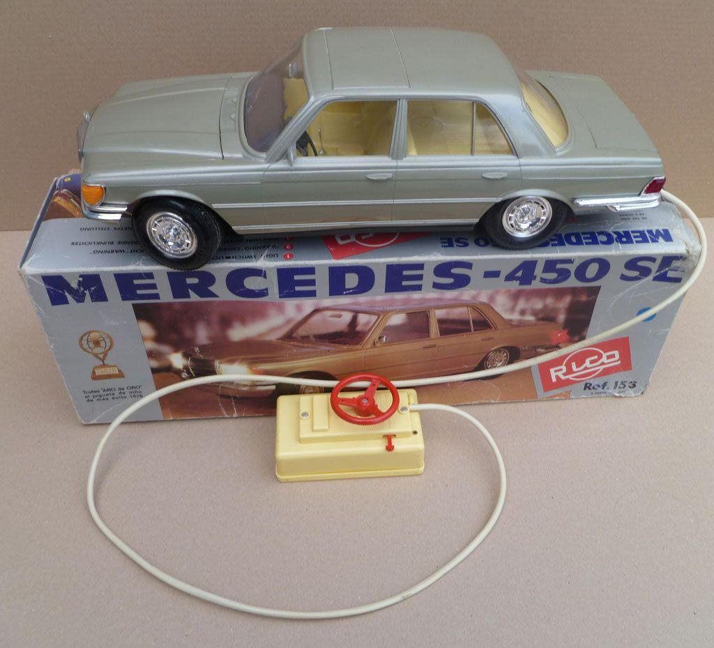 Rico 153 Mercedes 450 SE Filoguidée 45cm avec Eclairage Boite d\'origine