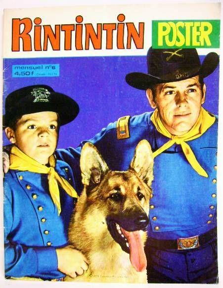 Rin-Tin-Tin - Rintintin Monthly Magazine #6 1978