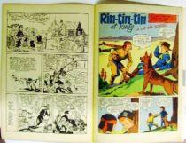 Rin-Tin-Tin - Vedettes T.V. Monthly Magazine #8 1960 - Rin Tin Tin & Rusty