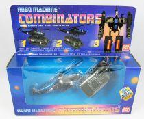 Robo Machine - Combinators - Helicoptère & Transporteur