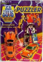 Robo Machine - Puzzler Robot - Crossword