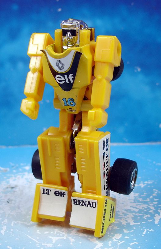 Robo-Machine Gobot (loose) - Slicks (jaune)