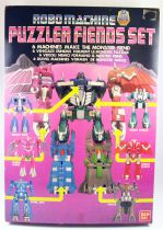 Robo Machine GoBots - Bandai - Puzzler Fiends Set - Monster Fiend