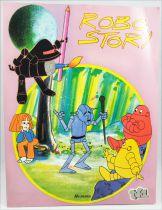 Robo Story - Editions Hemma TF1 - Livre de coloriage et d\'activité