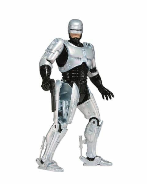 RoboCop - NECA - Figurine articulée Robocop (spring loaded holster) 18cm