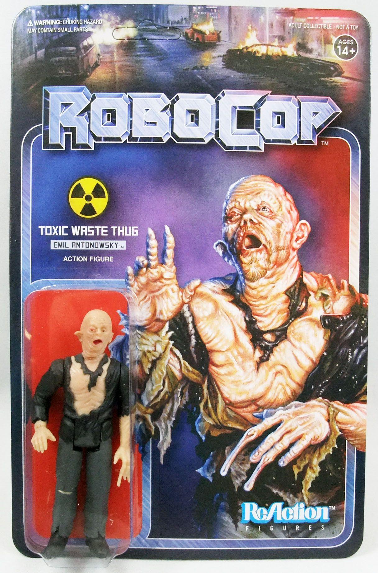 Robocop - Super7 ReAction Figure - Toxic Waste Thung Emil Antonowsky