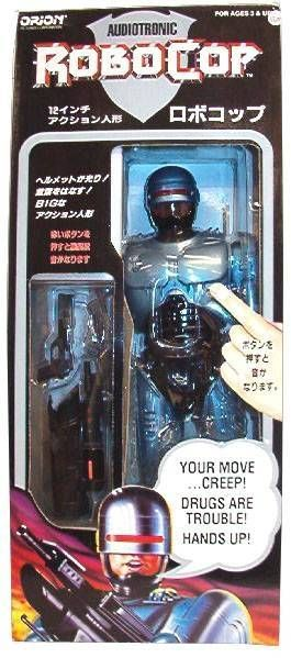 RoboCop - Toy Island - 12\'\' RoboCop Talking (Japan)