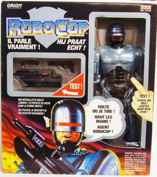 RoboCop - Toy Island/Ideal - 12\'\' Talking Robocop