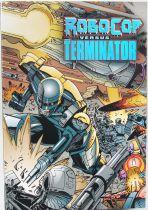RoboCop vs Terminator - NECA - Endocop & Terminator Dog 18cm