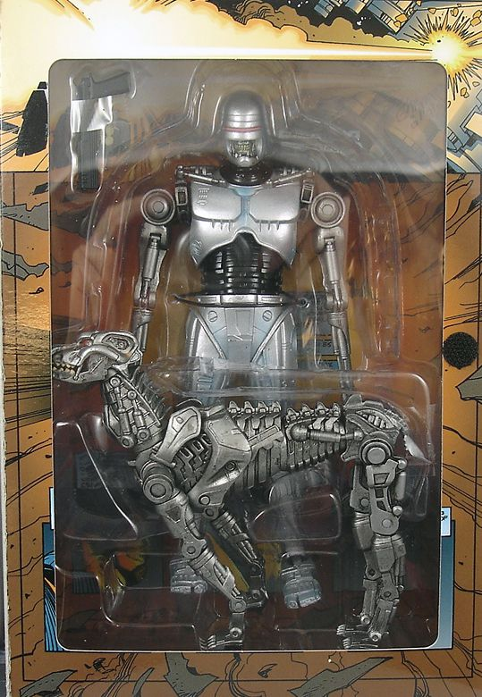 RoboCop vs. Terminator - NECA - Endocop & Terminator Dog 7\'\' Figure