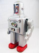 Robot - Battery Operated Tin Robot - Astro Spaceman (Ha Ha Toys)