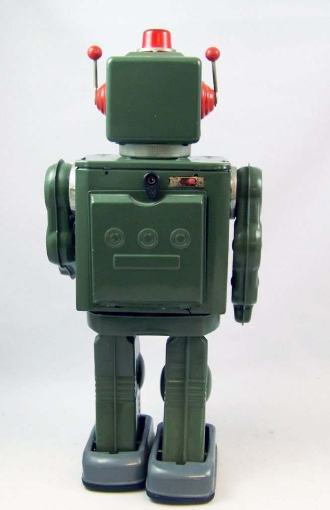 Robot - Battery Operated Tin Robot - Star Rider (Horikawa Japan) Reissue