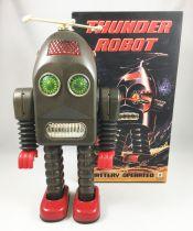Robot - Battery Operated Tin Robot - Thunder Robot (Ha Ha Toys) TR2015
