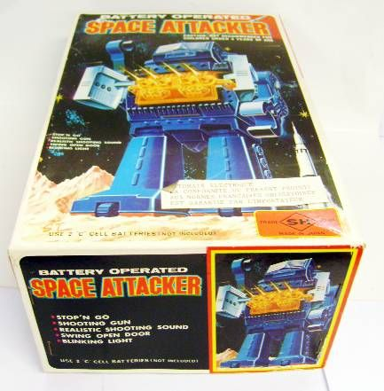 Robot - Battery Operated Walking Robot - Space Attacker (S.H.)