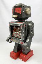 Robot - Battery Operated Walking Tin Robot - Attacking Martian (Horikawa S.H. Japan)