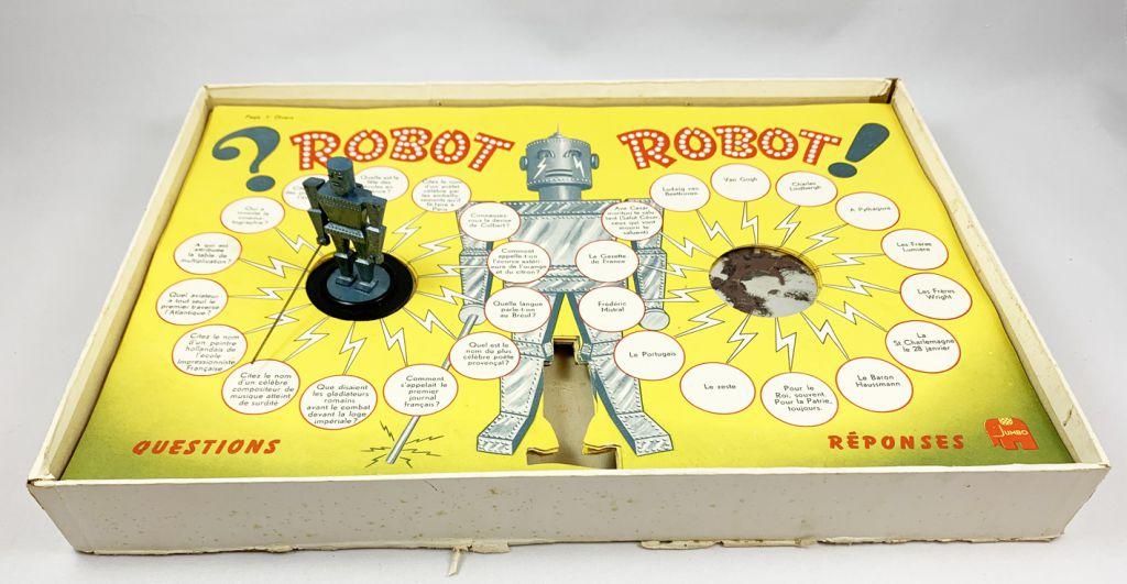 Robot - Jeu Jumbo (1960\'s) - Questionnez! Robot vous répond!