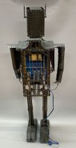 Robot - Meccano Box n°9 1962 - 36inch Mechanical Robot (Meccano 9.7)