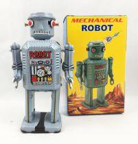 """Robot - Mechanical Walking Tin Robot - \""""Fish-Eyes\"""" Robot (Q.S.H.) MS416"""