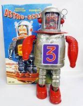 Robot - Mechanical Walking Tin Robot - Astro-Scout (Q.S.H.)