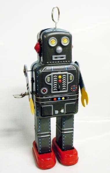 Robot - Mechanical Walking Tin Robot - Atomic Tom MS 438 (ImageGifts)