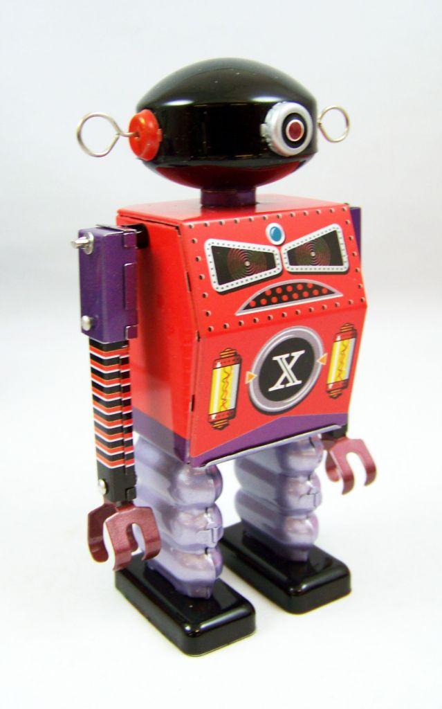Robot - Robot Marcheur Mécanique en Tôle - Dark Templar (St.John Tin Toy) 02