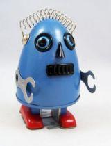 Robot - Robot Marcheur Mécanique en Tôle - Robot Oeuf (Ha Ha Toy) 02