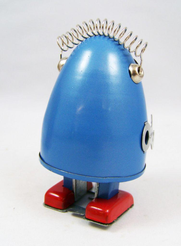 Robot - Robot Marcheur Mécanique en Tôle - Robot Oeuf (Ha Ha Toy) 03