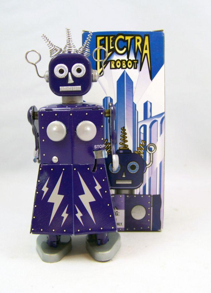 Robot Mechanical Walking Tin Robot Electra Robot St John
