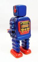 Robot - Robot Marcheur Mécanique en Tôle - Gearing Robot (St.John Tin Toy) 03