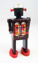 Robot - Mechanical Walking Tin Robot - M-65 Robot (St.John Tin Toy)