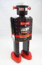 Robot - Mechanical Walking Tin Robot - M-65 Robot Emergency (St.John Tin Toy)