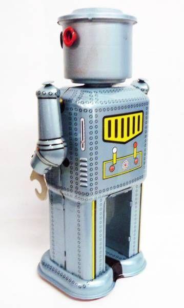 Robot - Mechanical Walking Tin Robot - Mechanical Robot (Ha Ha Toy)