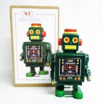 Robot - Mechanical Walking Tin Robot - Mechanical Robot Green (N.R.)