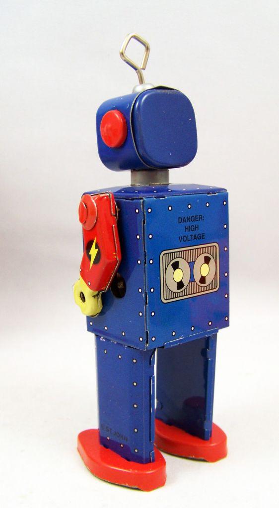 Robot - Robot Marcheur Mécanique en Tôle - Neutron Robot II (St.John Tin Toy) 03