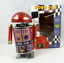 Robot - Mechanical Walking Tin Robot - Robo Cop (Tin Treasures)
