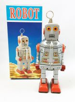 Robot - Mechanical Walking Tin Robot - Robot MS386 (Q.S.H.)