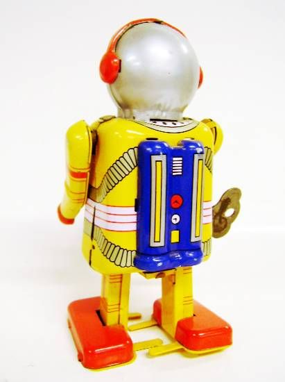 Robot - Mechanical Walking Tin Robot - Robot Space Man
