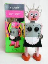 Robot - Mechanical Walking Tin Robot - Roxy Robot (St. John)