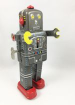 Robot - Mechanical Walking Tin Robot - Space Man (Ha Ha Toy) MS439