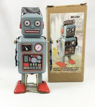 Robot - Mechanical Walking Tin Robot - Strand Robot MS294