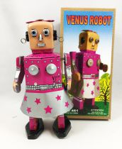 Robot - Mechanical Walking Tin Robot - Venus Robot MS461