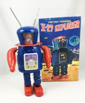 Robot - Mechanical Walking Tin Robot - X-27 Explorer (Q.S.H.) MS398