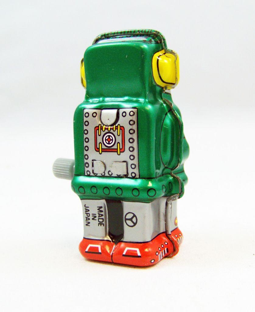 Robot - Mini Wind-Up en Tôle - Zoomer Robot 03