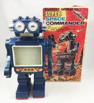 Robot - Robot Marcheur à Pile - Space Commander - Horikawa (S.H.)