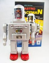 Robot - Robot Marcheur à Pile en Tôle - Astro Spaceman (Ha Ha Toys)