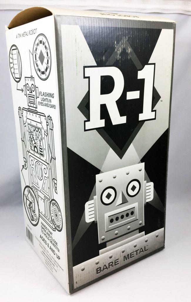 Robot - Robot Marcheur à Pile en Tôle - Robot One R-1 (Rocket USA) Métal