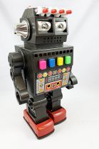 Robot - Robot Marcheur à Pile en Tôle - Talking Robot (Yonezawa Japan)