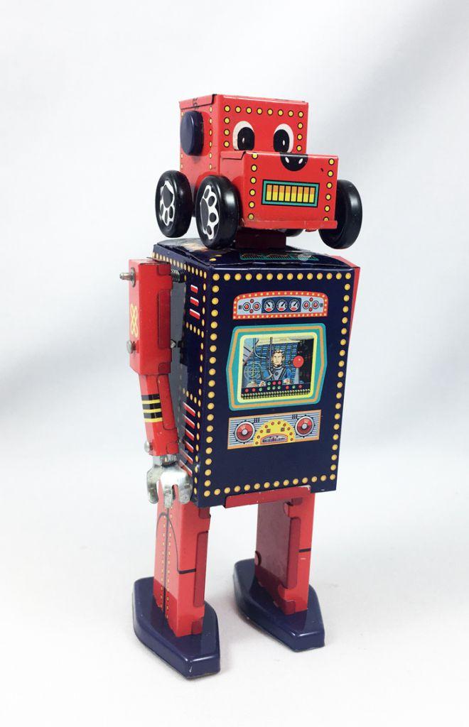 Robot - Robot Marcheur Mécanique en Tôle - Chien Robot MS 486 (ImageGifts)