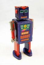Robot - Robot Marcheur Mécanique en Tôle - D-73 Robot (St.John Tin Toy)